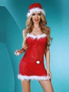 Christmas Star komplet 3 cz. - świąteczny kostium gorącej gwizadeczki