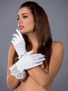 Etheria rękawiczki białe - delikatne rękawiczki zapewniające dreszczyk emocji