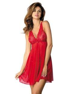 Scarlet koszula – czerwona - zwiewna powabność