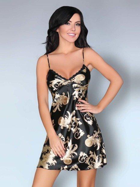 Dragana Black koszulka czarna - luksus na co dzień WYPRZEDAŻ