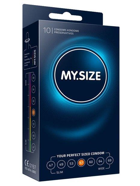 MY.SIZE 57  - dobrane do obwodu 11,5 - 12,0 cm (10 szt.)