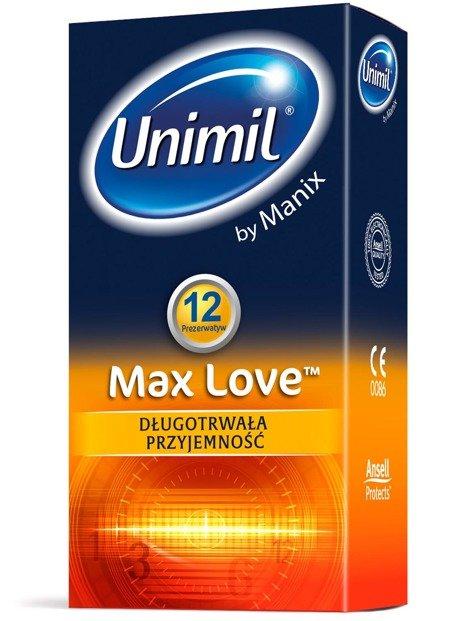 Max Love - długotrwała przyjemność (12 szt.)