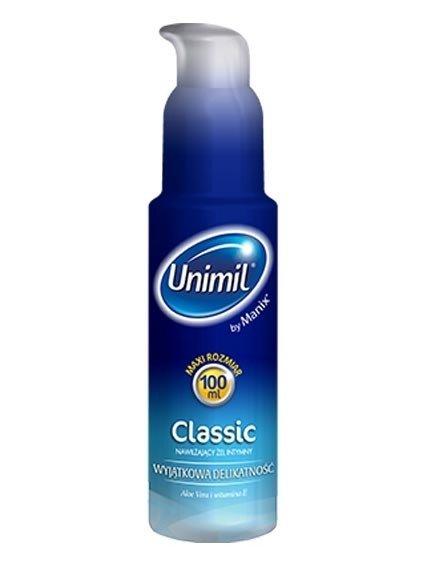 Unimil Classic - nawilżający żel intymny z Aloe Vera (100 ml)